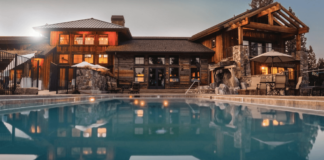 Pool Front View at Your Home