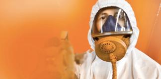industrial spray painting
